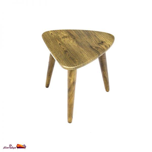 میز عسلی مثلثی آنتیک طلایی وودیمو D3AN